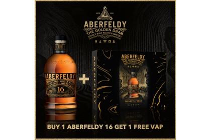 ABERFELDY 16YRS SINGLE MALT - VAP BOX