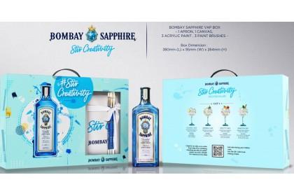 BOMBAY SAPHIRRE GIN GIFT SET BOX